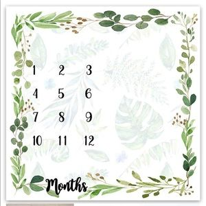 12 month milestone blanket